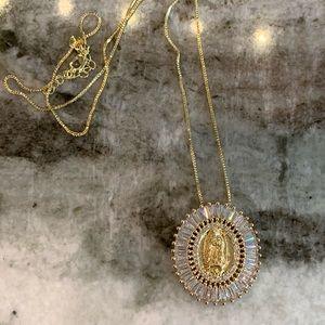 Jesus pendant necklace